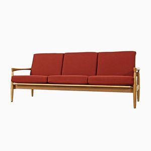 Oak Sofa by Erik Wørts for Bröderna Andersson, 1960s