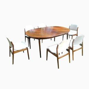 Palisander Esszimmer Set von Arne Vodder für Sibast, 1960er