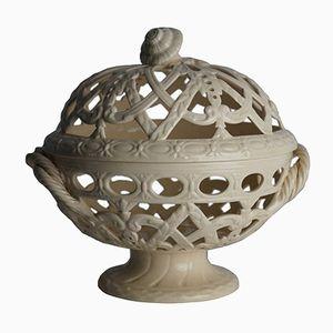 Antique Wedgwood Creamware Orange Bowl Basket
