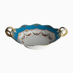 Old Paris Oval Bowl with Handles, 1850