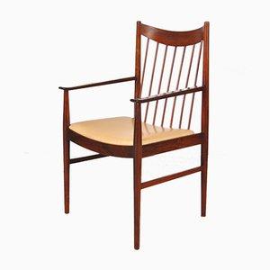 Danish Rosewood & Skai Dining Chair by Arne Vodder for Sibast, 1960s