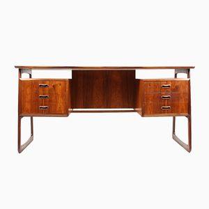 Danish Modern Rosewood Desk, 1950s