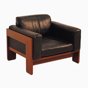Vintage Leather Brazilian Armchair, 1970s