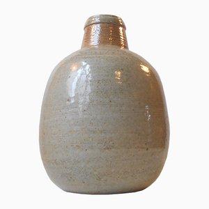 Große Steingut Vase von Niels Kahler für HAK, 1970er
