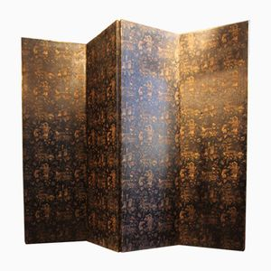 Antique English Chinoiserie Folding Screen