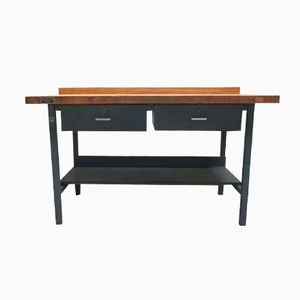 Industrial Work Table from Hamann & Co, 1950s