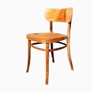 Model 234 Bentwood Side Chair by Magnus Stephensen for Fritz Hansen, 1940s