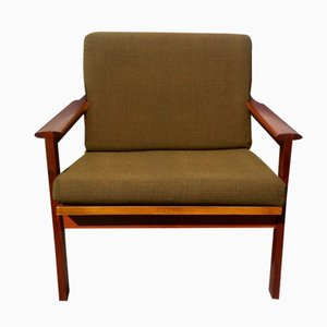 No. 4 Capella Chair by Illum Wikkelso for N. Eilersen, 1960s
