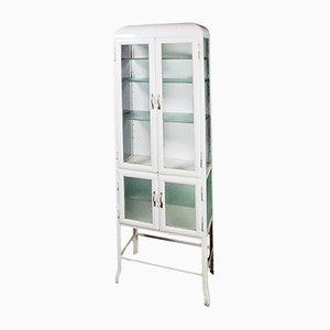 meuble de rangement m dical blanc en m tal pologne 1950 en vente sur pamono. Black Bedroom Furniture Sets. Home Design Ideas