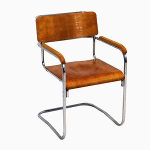 chaise wassily par marcel breuer pour fasem 1983 en vente. Black Bedroom Furniture Sets. Home Design Ideas