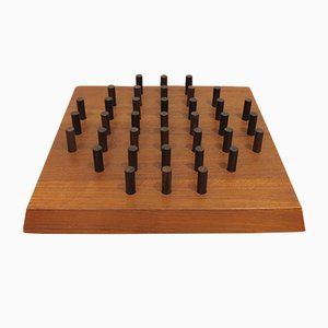 Danish Teak and Rosewood Games Board from Skjode, 1960s