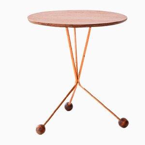Teak & Copper Coffee Table by Albert Larsson for Alberts Tibro, 1952