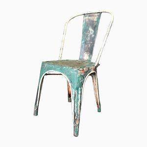 Französischer Modell A Stuhl von Xavier Pauchard für Tolix, 1950er