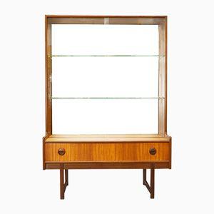 Mid-Century British Glass Display Cabinet from Turnidge, 1960s
