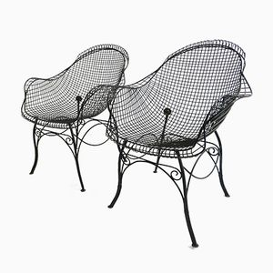 Italian Nest Armchairs, 1950s, Set of 2