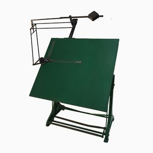 German Architects Drafting Table from Kuhlmann, 1950s