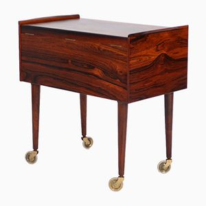 Rosewood Sewing Table from Andersen & Bohm
