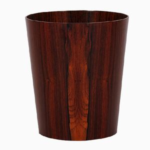 Vintage Rosewood Wastepaper Basket by Martin Åberg for Servex