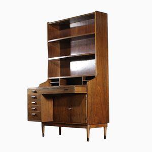 Large Vintage Teak Secretaire Cabinet