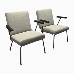 Model 415/1401 Chairs by Wim Rietveld for Gispen, 1954, Set of 2