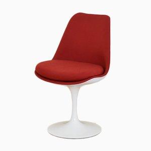 Amerikanischer Roter Tulip Stuhl von Eero Saarinen für Knoll, 1950er