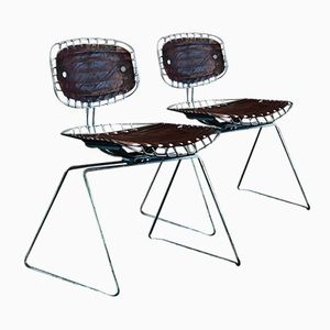 French Beaubourg Chairs by Michel Cadestin & Georges Laurent, 1977, Set of 2