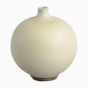 Swedish Round Vase by Berndt Friberg for Gustavsberg, 1950