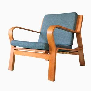 Vintage GE 671 Easy Chair by Hans Wegner for Getama