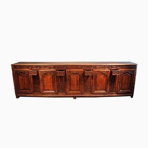 French Fruitwood Enfilade, 1760s