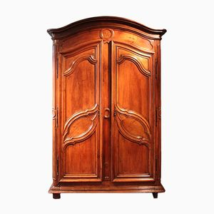 French Walnut Armoire, 1780s