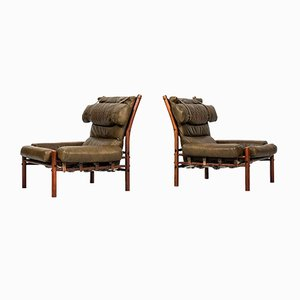 Inca Chairs by Arne Norell, Set of 2