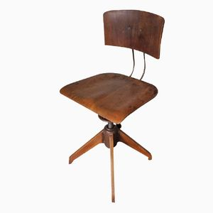 Chaise d'Atelier Vintage Industrielle de Rowac, Allemagne