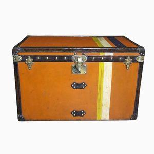 Orange Steamer Trunk from Louis Vuitton, 1900s