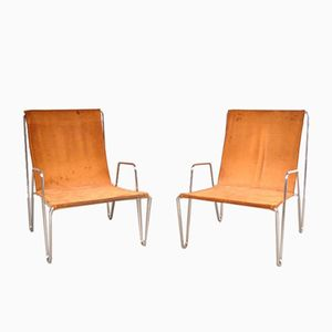 Bachelor Chairs by Verner Panton for Fritz Hansen, 1955, Set of 2