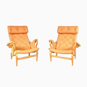 Pernilla Easy Chairs by Bruno Mathsson for DUX, 1970s, Set of 2