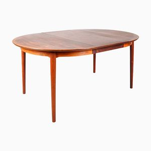 Extendable Rosewood Dining Table by Arne Vodder for Sibast, 1950s