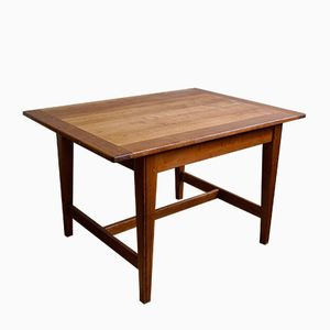 Solid Cherry Dining Table, 1930s