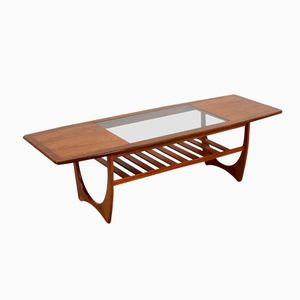 Teak Rectangular Coffee Table by Victor Wilkins for G-Plan, 1960s
