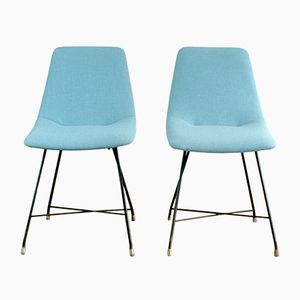 Aster Chairs by Augusto Bozzi for Saporiti, 1950s, Set of 2