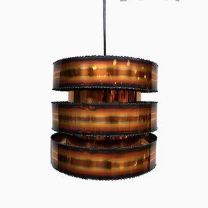 Mid-Century Danish Copper Pendant Lamp from Holm-Sørensen