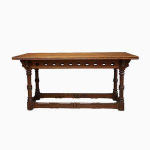 Table de Bibliothèque en Bois de Pin, Ecosse, 1870s