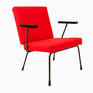 Model 415/1401 Chair by Wim Rietveld for Gispen, 1950s