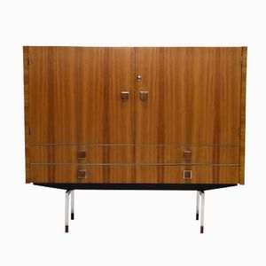 Rosewood & Chrome Cabinet by Alfred Hendrickx for Belform