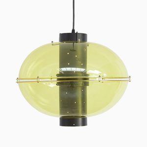 Ellipsenförmige Plexiglas Orbiter Hängelmpe von Raak