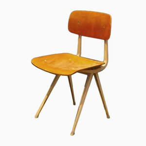 Wood & Steel Result Chair by Friso Kramer for Ahrend de Cirkel, 1960s