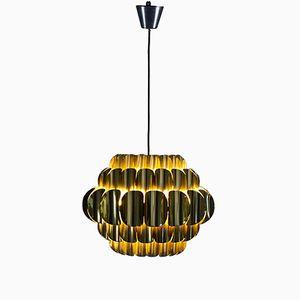 Lampe à Suspension en Laiton par Thorsten Orrling pour Hans-Agnes Jakobsson AB, Suède, 1960s
