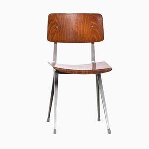 Mid-Century Result Schichtholz Stuhl von Friso Kramer für Ahrend de Cirkel, 1960er