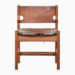 Mid-Century Modell 3251 Hunting Stuhl von Børge Mogensen für Fredericia Furniture