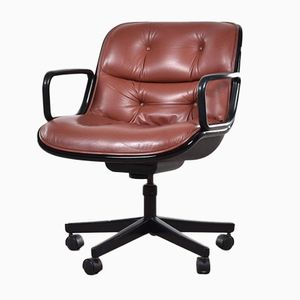 Executive Swivel Armchair by Charles Pollock for Knoll