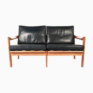 Two-Seater Sofa by Illum Wikkelsø for Niels Eilersen